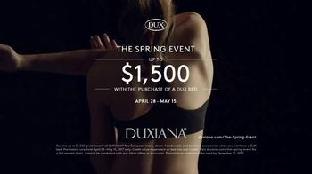 Duxiana The Spring Event TV Spot, 'Dux Bed' - Thumbnail 8