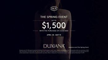 Duxiana The Spring Event TV Spot, 'Dux Bed' - Thumbnail 7