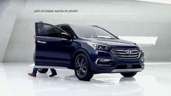 2017 Hyundai Santa Fe Sport TV Spot, 'Cargo Volume' [T2] - Thumbnail 1