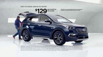 2017 Hyundai Santa Fe Sport TV Spot, 'Cargo Volume' [T2] - Thumbnail 2