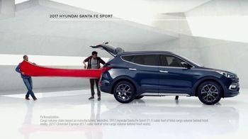 2017 Hyundai Santa Fe Sport TV Spot, 'Cargo Volume' [T2] - Thumbnail 4