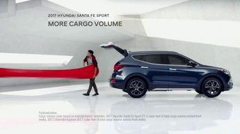 2017 Hyundai Santa Fe Sport TV Spot, 'Cargo Volume' [T2] - Thumbnail 5