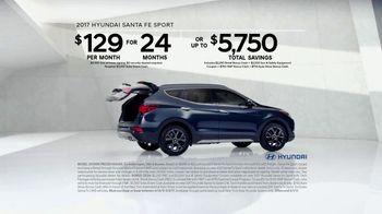 2017 Hyundai Santa Fe Sport TV Spot, 'Cargo Volume' [T2] - Thumbnail 8