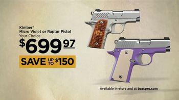 Bass Pro Shops Spring Fever Sale TV Spot, 'Kimber Micro Pistols' - Thumbnail 5