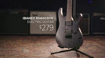 Guitar Center Guitar-A-Thon TV Spot, 'ESP and Ibanez Electric Guitars' - Thumbnail 6