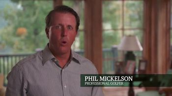 The Greenbrier TV Spot, 'So Much to Do' Featuring Phil Mickelson - 269 commercial airings