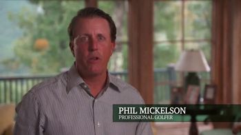 The Greenbrier TV Spot, 'So Much to Do' Featuring Phil Mickelson - Thumbnail 3