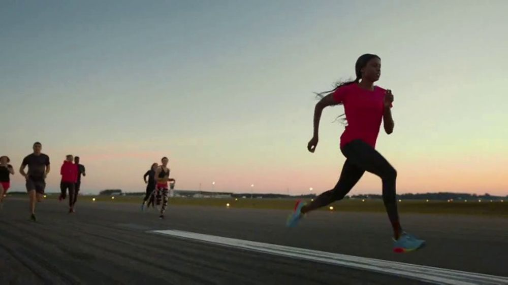 ASICS FlyteFoam TV Commercial, 'Don't Run, Fly' Featuring Candace Hill