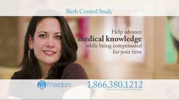 E4 Freedom TV Spot, 'Birth Control Study'