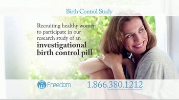E4 Freedom TV Spot, 'Birth Control Study'