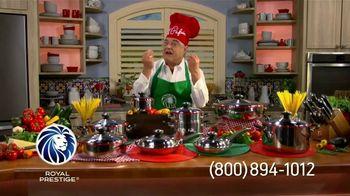 Royal Prestige TV Spot, 'Válvula' con Chef Pepín [Spanish] - 6 commercial airings
