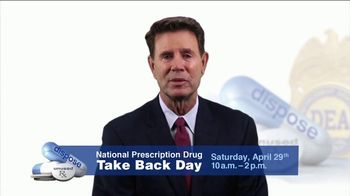 DEA TV Spot, '2017 Prescription Drug Take Back Day' Featuring Jim Palmer - Thumbnail 2
