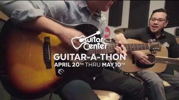 Guitar Center Guitar-a-Thon TV Spot, 'Martin Guitar and Ernie Ball Strings' - Thumbnail 3
