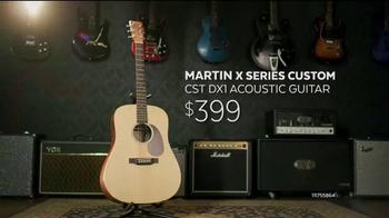 Guitar Center Guitar-a-Thon TV Spot, 'Martin Guitar and Ernie Ball Strings' - Thumbnail 4