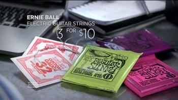 Guitar Center Guitar-a-Thon TV Spot, 'Martin Guitar and Ernie Ball Strings' - Thumbnail 5