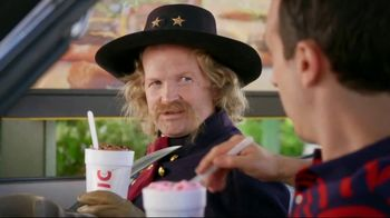 Sonic Drive-In Custard Concretes TV Spot, 'George Custer' - 474 commercial airings