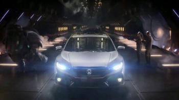 2017 Honda Civic Hatchback TV Spot, 'Made Mean' [T1] - Thumbnail 9