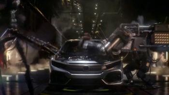 2017 Honda Civic Hatchback TV Spot, 'Made Mean' [T1] - Thumbnail 4