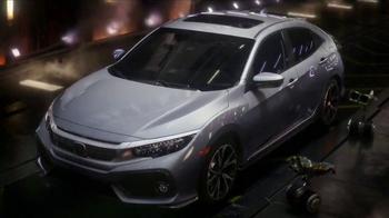 2017 Honda Civic Hatchback TV Spot, 'Made Mean' [T1] - Thumbnail 8