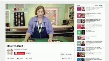 YouTube Small Business TV Spot, 'Missouri Star Quilt' - Thumbnail 5