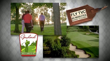 Gaylord Michigan Tourism Bureau TV Spot, 'Summer Golf Mecca' - Thumbnail 4