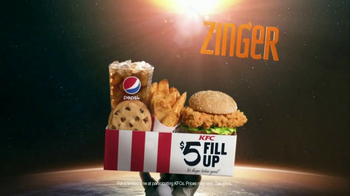 KFC Zinger TV Spot, 'Anti-Gravity' - Thumbnail 8