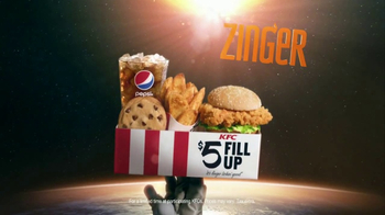 KFC Zinger TV Spot, 'Anti-Gravity' - Thumbnail 9
