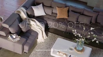 Scandinavian Designs Spring Upholstery Sale TV Spot, 'Up to 20% Off' - Thumbnail 5