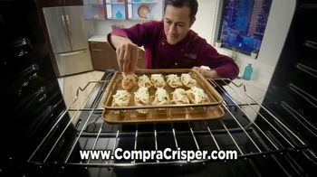 Gotham Steel Crisper Tray TV Spot,'Comida frita' con Daniel Green [Spanish]