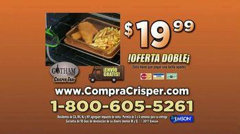 Gotham Steel Crisper Tray TV Spot,'Comida frita' con Daniel Green [Spanish] - Thumbnail 9