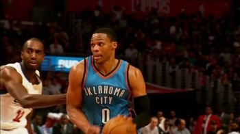 NBA App TV Spot, 'One Play: Exploding to the Rim' Feat. Russell Westbrook - Thumbnail 1