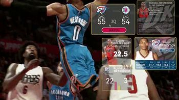 NBA App TV Spot, 'One Play: Exploding to the Rim' Feat. Russell Westbrook - 2 commercial airings