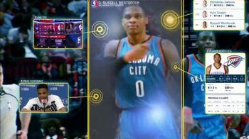 NBA App TV Spot, 'One Play: Exploding to the Rim' Feat. Russell Westbrook - Thumbnail 7
