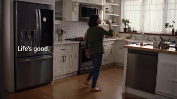 LG InstaView Door-in-Door Refrigerator TV Spot, 'Dad's Lemonade' - Thumbnail 8