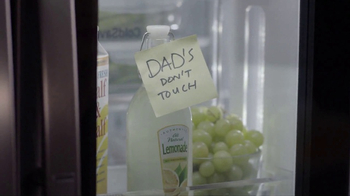 LG InstaView Door-in-Door Refrigerator TV Spot, 'Dad's Lemonade'