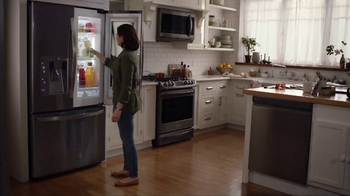 LG InstaView Door-in-Door Refrigerator TV Spot, 'Dad's Lemonade' - Thumbnail 2