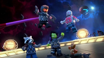 LEGO Marvel Super Heroes TV Spot, 'Save the Galaxy Again' - 659 commercial airings