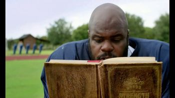 Castrol EDGE TV Spot, 'Words of Strength: Reading' Featuring Vince Wilfork - 421 commercial airings