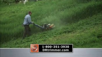 DR Trimmer Mower TV Spot, 'America's Favorite Trimmer on Wheels'