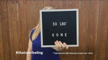 Weight Watchers TV Spot, 'That WW Feeling' - Thumbnail 1