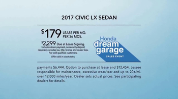 Honda Dream Garage Sales Event TV Spot, 'Proud Heritage' [T2] - Thumbnail 8