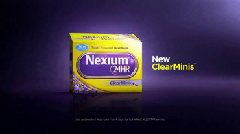 Nexium 24HR ClearMinis TV Spot, 'Frequent Heartburn Protection' - Thumbnail 8