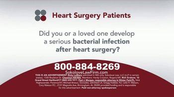 Sokolove Law TV Spot, 'Heart Surgery Patients' - Thumbnail 1
