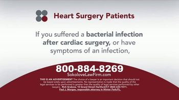 Sokolove Law TV Spot, 'Heart Surgery Patients' - Thumbnail 3