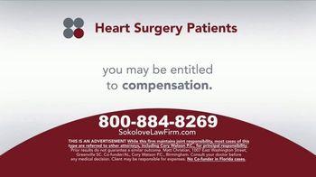 Sokolove Law TV Spot, 'Heart Surgery Patients' - Thumbnail 4