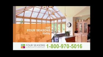 Four Seasons Sunrooms TV Spot, 'Time for the Seasons'