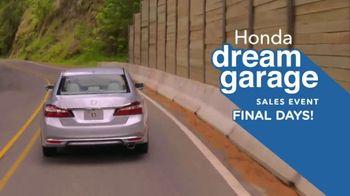 Honda Dream Garage Sales Event TV Spot, '2017 Accord vs. 2017 Camry' [T2] - Thumbnail 6