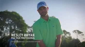 Callaway Chrome Soft TV Spot, 'Trick Shot' Featuring Wesley Bryan - Thumbnail 3