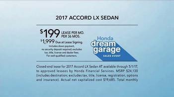 Honda Dream Garage Sales Event TV Spot, 'Road Trip' [T2] - Thumbnail 7