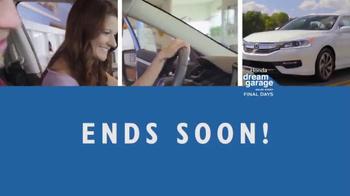 Honda Dream Garage Sales Event TV Spot, 'Don't Miss This' [T2] - Thumbnail 10